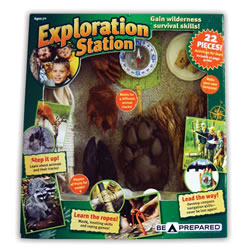 Geocaching Collection Station - Outdoor Survival Skills Kit