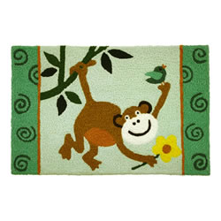 Jellybean Rug - Monkey See (C) - Washable