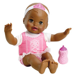 Little Mommy Baby So New African-American Doll