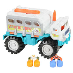 Matchbox Big Boots Arctic Transporter