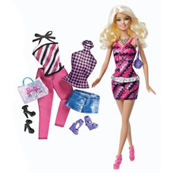 Barbie® Doll & Fashion Set - Blonde