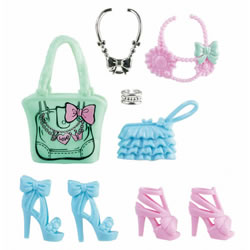 Barbie® Fashionistas Glam and Sweetie Accessories