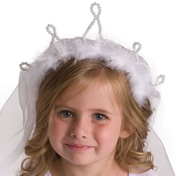 Princess Bride Wedding Veil Dress-Up Accessory