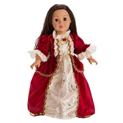 Winter Beauty Doll Costume