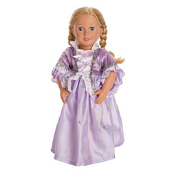 Royal Rapunzel Doll Costume