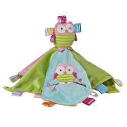 Taggies Oodles Owl Blanket