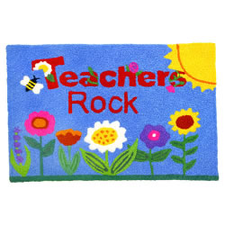 Jellybean Rug - Teacher's Rock - Washable