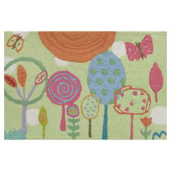 "Jellybean Rug Bigbean - Happiness Lane © - (23"" x ""44"")"