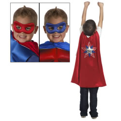 American Hero Cape & Mask
