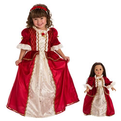 Winter Beauty Dress & Accessories with Matching Doll Dress