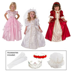 Girls Dress-Up Set & Accessories - Size Large