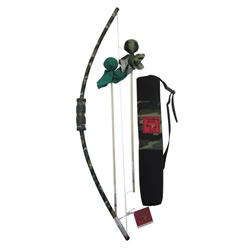 Bow & Arrow with Quiver Set - Camouflage