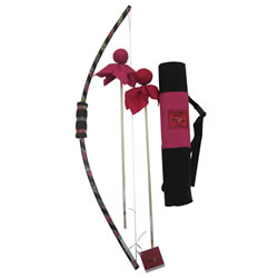 Bow & Arrow Quiver Set - Pink