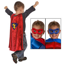 Super Hero Cape & Mask