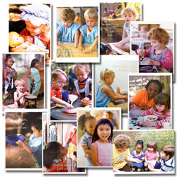 Growing & Developing for Preschoolers Posters (Set of 12)