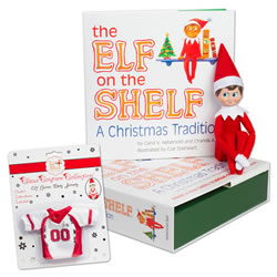 Elf on the Shelf®  (Boy - Light) & Game Day Jersey