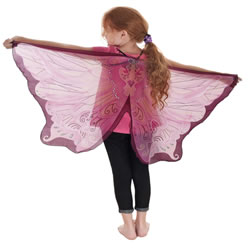 Dreamy Dress-ups Fantasy Pink Fairy Wing