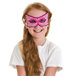 Pink Fairy Mask