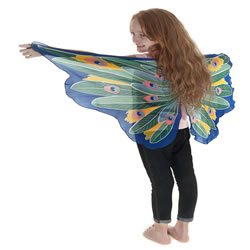 Dreamy Dress-ups Fantasy Peacock Fairy Wings