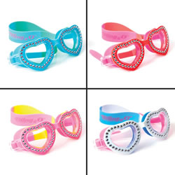 Bling2o Swim Goggles- Summer LoveSwirl