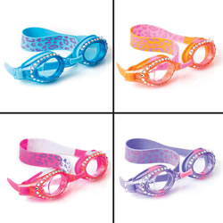 Bling2o Swim Goggles- Cheeta Chic