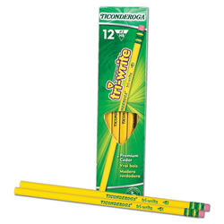 Ticonderoga TriWrite #2 Pencil Dz/Bx