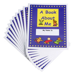 A Book About Me (Pack of 10)