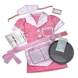 Waitress Dress-Up Set