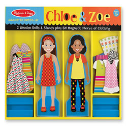 Chloe & Zoe Magnetic Dress-Up