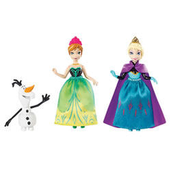 Disney- Frozen Small Doll Char Pack