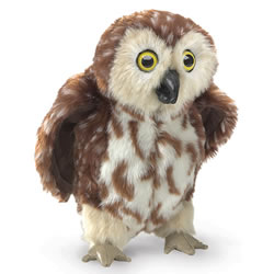Saw Whet Owl Puppet