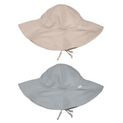 Solid Brim Hat- Newborn