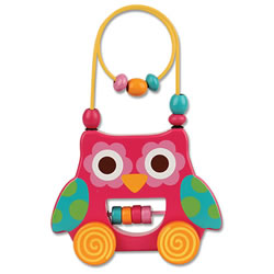 Wire & Bead Toy - Owl