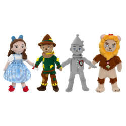 "Wizard of Oz™ 12"" Washable Cloth Dolls"