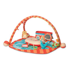 Play Gym - Flying Circus with Toy Box