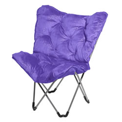 Sparkle Butterfly Chair - Purple