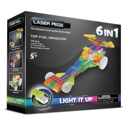Laser Pegs® Dragster - 6 Models in 1