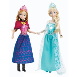 Frozen Magical Music Doll Set - Anna & Elsa