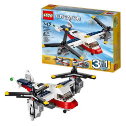 Lego Creator Twin Blade Adventures