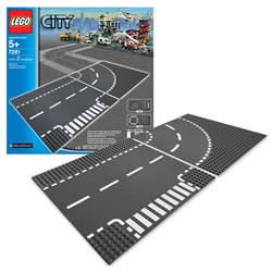 LEGO® City Train T-Junction & Curve (7281)