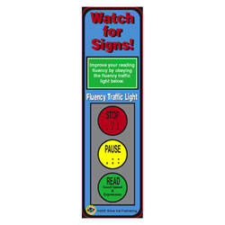 Watch for Signs (Fluency) Bookmarks - Pack of 30
