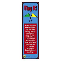 Flag It (Vocabulary) Bookmarks - Packof 30