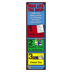 Read Like You Shop (Test Taking) Bookmarks - Pack of 30
