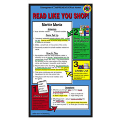 Test Taking Home Literacy Cards (Pack of 10)