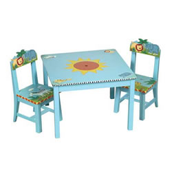 Safari Table And Chairs Set