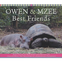Owen & Mzee : Best Friends - Boardbook