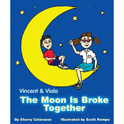 The Moon Is Broke Together - Hardback
