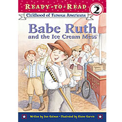 Babe Ruth And The Ice Cream Mess - Paperback