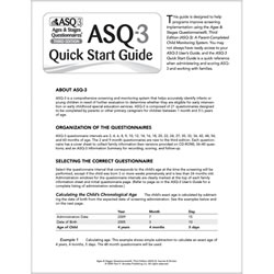 ASQ-3™ Quick Start Guide