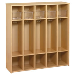 Eco Preschool Tray Locker